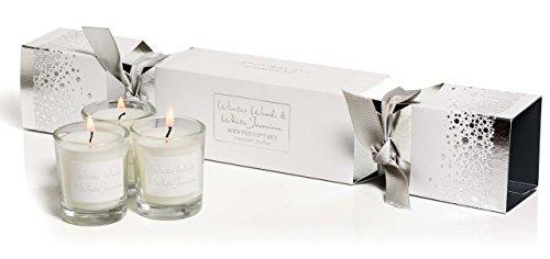 Winter-votiv-kerzen (Glas Seasonal???Winter Woods & Wei? Jasmin Refill Kerzen???3?St?ck)