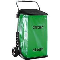 Claber 87267 Carrello PORTASACCO Cart-Eco 8934, Nero, 590x440x160 cm