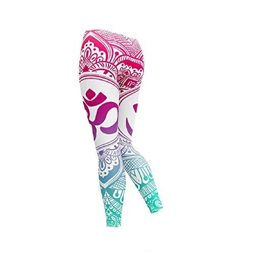 Vaycally Gamaschen-Yoga-Hosen-Ineinander greifen - Nicht durchsichtige hohe Taillen-Eignungs-Strumpfhose für Frauen - Beschnitten Spandex-leggings