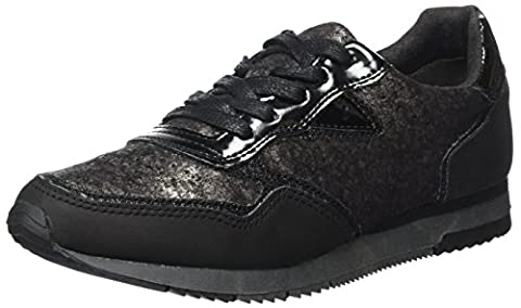 Tamaris 23601, Sneakers Basses Femme, Noir (Black Comb), 38 EU