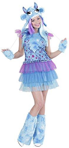 Space Monster Kostüm Blau Gr. (Der Außerirdische Et Kostüm)