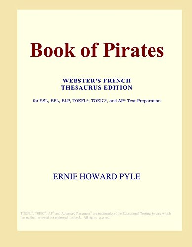 Book of Pirates (Webster's French Thesaurus Edition)