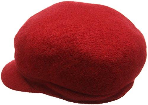 Betmar Rhinestone Cap, Casquette de Baseball Femme Rouge - Rouge
