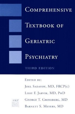 Comprehensive Textbook of Geriatric Psychiatry (Third Edition) (Norton Professional Books) (2004-03-17)