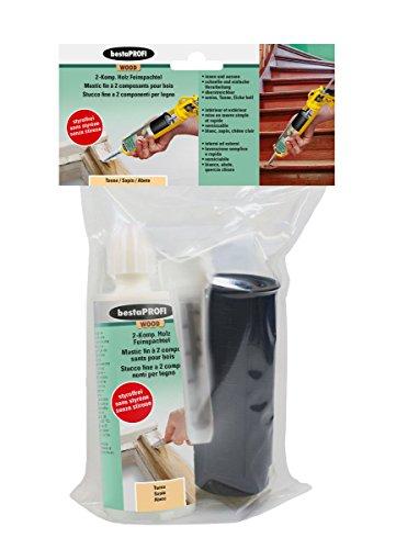 BESTAPROFI 2 Komponenten Holz Feinspachtel 300 g, Tanne, 598859