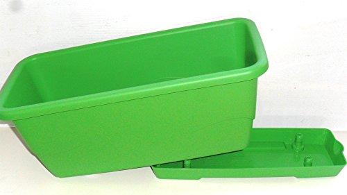 Plateau amovible Grosfillex Jardinière en plastique avec chaise Vert citron 40 cm