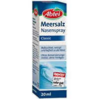 Abtei Meersalz Nasenspray, 20 ml, 1er Pack (1 x 20 ml) - preisvergleich
