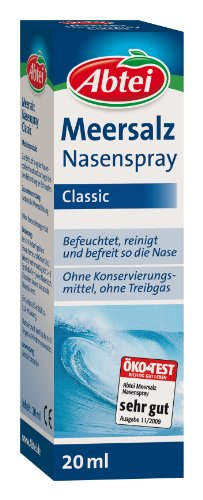 Abtei Meersalz Nasenspray, 20 ml, 1er Pack (1 x 20 ml)
