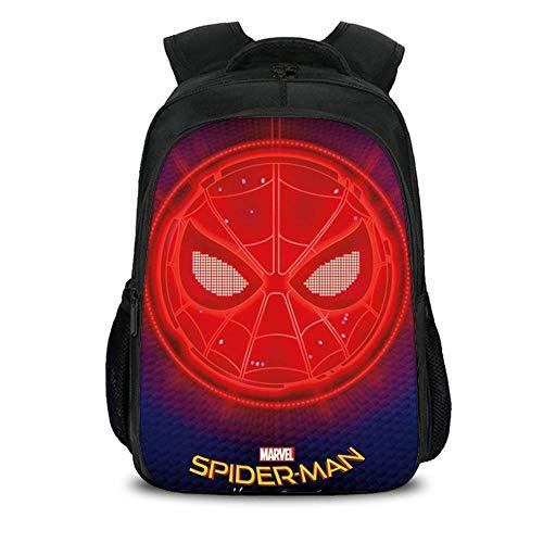 Kostüm Spiderman 5 Alt Jahre - TYYM Backpack Kinder Schulrucksack 3D Anime Spiderman Printed Bookbags Für Jungen 5-12 Jahre Alt J-40 * 27 * 17cm
