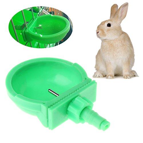 Fogun Haustier Wasser Spender, 1 Stück Tragbare Kleine Haustier Trinker Wasser Schüssel für Kaninchen Hamster