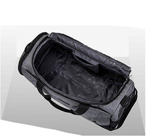 LAIDAYE Reise Seesack Großer Faltbare Sport Und Fitnessraum Duffle Bag Water-Resistant Spielraumduffle Tasche Mit Abnehmbarem Schultergurt Für Fr. 5