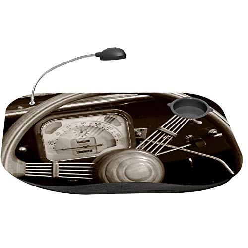 Art Deco Home Bandeja Cama Multiusos C/LUZ MANDOS Coche 48x38cm