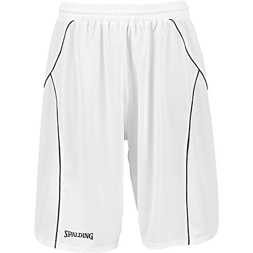 SPALDING basketball crossover-training Short [ROT] M  - - White / black