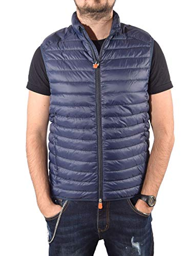 SAVE THE DUCK Gilet D8241M Giga8 S91 Navy Blue (Blu Navy) 9, 11 4XL