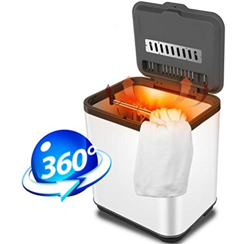 Elektrische Hand Trockner (STEAM PANDA Wäschekleidung Trockner Elektrische Edelstahl 800w Schnelle Luft Trockene Heiße Kleiderschrank 38L Hohe kapazität Energieeinsparung)