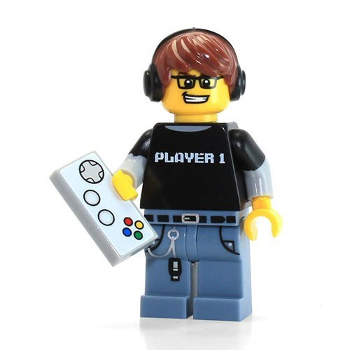 LEGO Series 12 Collectible Minifigure 71007 - Video Game Guy Gamer by LEGO (Series Game Guy 12-video Lego)