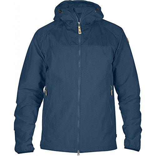 Fjällräven Abisko Hybrid Jacket - Leichte Trekkingjacke für Herren mit schnörkellosem Design (Uncle Blue (520), S)