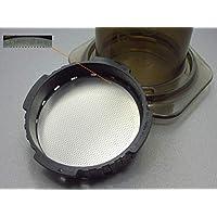 Für Aeropress Massiv Ultra Fein Edelstahl Kaffee Wiederverwendbar Filter Ersetzt