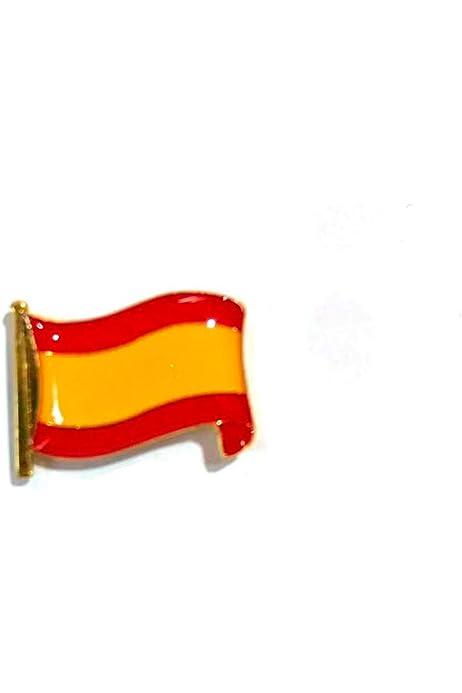 Desconocido Pin de Solapa Bandera España Española Metal con ...