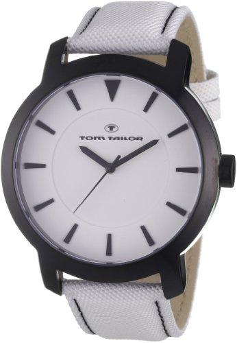 Tom Tailor - 5407602 - Montre Homme - Quartz Analogique - Bracelet Nylon Blanc