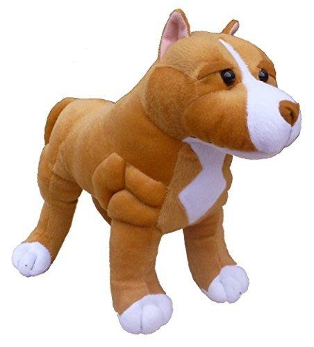 ADORE 13 Standing Boss the Pit Bull Dog Plush Stuffed Animal Toy by Adore Plush Company