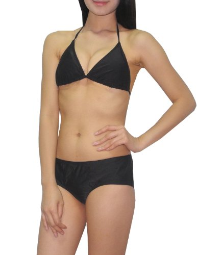 2-pcs-set-old-navy-womens-bikini-top-bottom-dri-fit-surf-swimsuit-m-b-cup-black