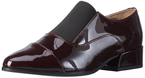 Clarks Damen Rey Chic Slipper Violett (Aubergine Patent)