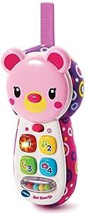 VTech Baby Bel Beertje Roze - Juegos educativos (Rosa, Chica, 0,25 año(s), 2 año(s), Oso, Holandés)