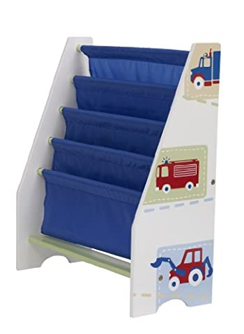 Vehicles Kids Sling Bookcase - Bedroom Storage by HelloHome
