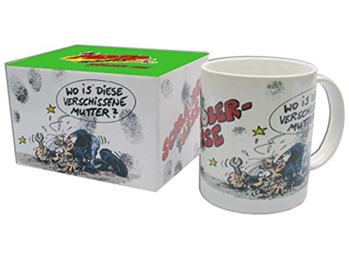 MOTOmania Kaffeetasse/Schrauber Design/Becher/Motorradfahrer Geschenkidee