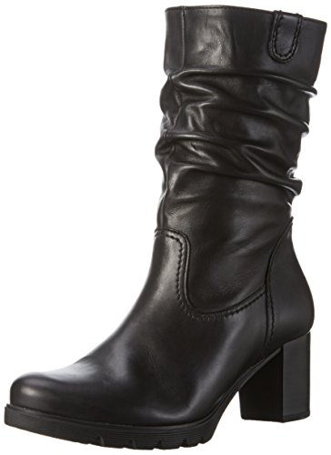 Gabor Shoes Basic, Stivaletti Donna, Nero (Schwarz 27), 44 EU