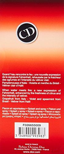 Christian Dior Fahrenheit Aqua Eau De Toilette 125ml