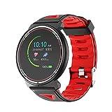 Duang Smartwatch, Bluetooth Fitness Tracker Uhr IP67 Wasserdichter Aktivitäts-Tracker Pulsmesser/Blutdruckmessgerät Schrittzähler, Schlaf-Monitor für Damen Herren, IOS/Android