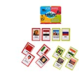 [Sponsored]Prism Edutives Globe Trot Snatch And Match World Facts Card Game (Multicolour)