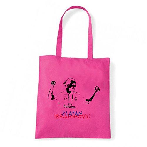 Art T-shirt, Borsa Shoulder Ibra, Shopper, Mare Fucsia