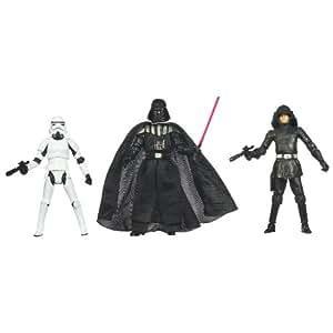 Star Wars Villain Set mit Darth Vader, Stormtrooper & Death Squad Commander von Hasbro