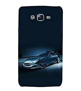 printtech Superfast Car Back Case Cover for Samsung Galaxy Quattro i8552 / Samsung Galaxy Quattro Win i8552