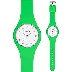 Zeigt Damen Swarovski Silikon Grün Naughty 6