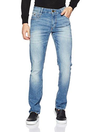 John Players Men's relaxed Jeans (8907349038362_ZCMWJNA160145_36W x 36L_Indigo)