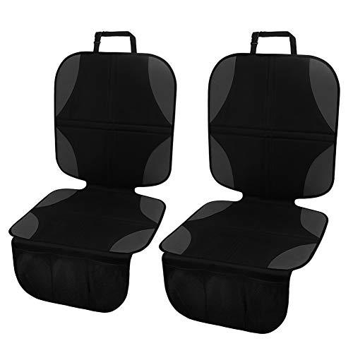 Meinkind Autositzauflage/Kindersitzunterlage/Autositzschoner/Autositzschutz kindersitz wasserabweisend, Auto-Kindersitzunterlage für Textil- und Ledersitze, universal für ISOFIX geeignet, 2 Stücke