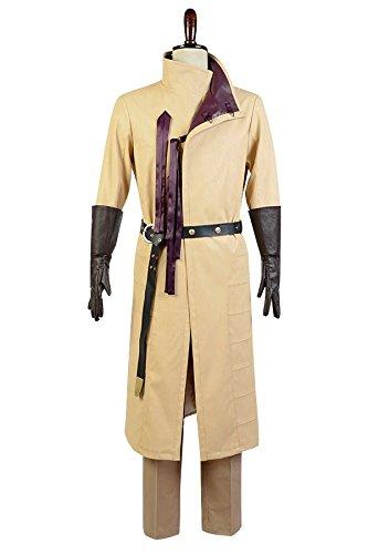 GoT Game of Thrones Kingslayer Ser Jaime Lannister Kleidung Cosplay Kostüm Herren L (Mantel Game Thrones Of)