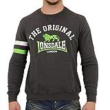 Lonsdale London Männer Sweater Hereford grau - 3XL