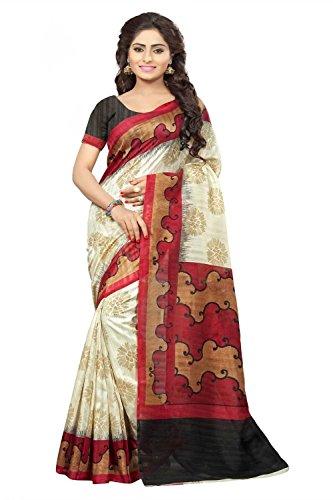 Vipul Minakari Silk Saree (11447 _Red)