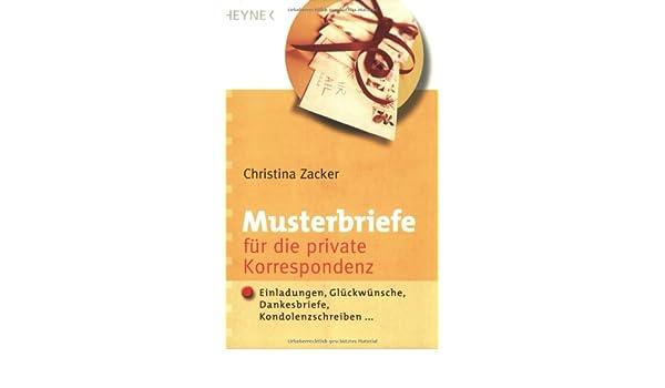 Musterbriefe Für Die Private Korrespondenz Einladungen