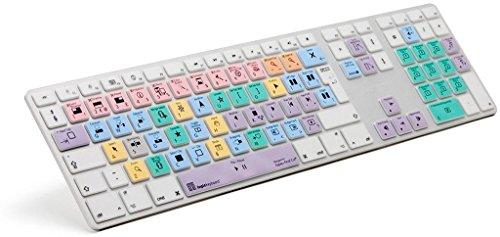 LogicKeyboard LogicSkin LS-FCPX10-M89-UK - Teclado para Apple Final Cut X, multicolor, ingles