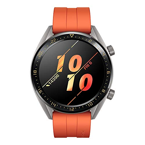 Huawei Watch GT Active - Reloj Inteligente, Naranja, 46 mm, Reloj