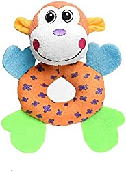 Heads Up For Tails Puppy Play Recycled Cotton Monkey Dog Toy