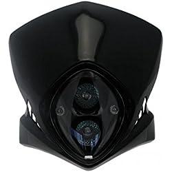 Plaque phare viper noir - Bihr 780254