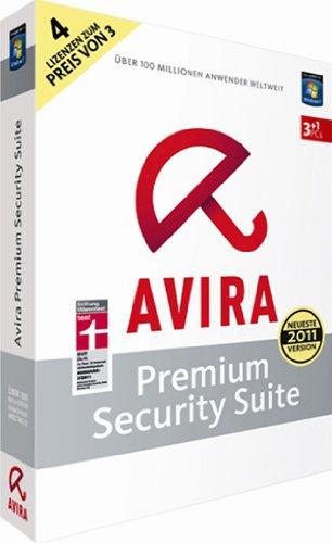 AVIRA Premium Security Suite – 4 User