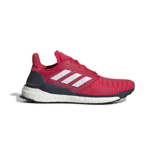 premium selection e35c3 3a2a3 adidas Solar Boost M, Chaussures de Running Homme, Rose Active Pink FTWR  White